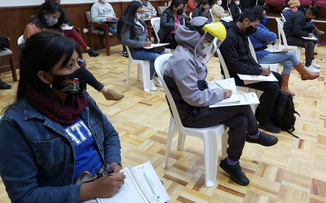 EL TED TARIJA CAPACITA A NOTARIOS ELECTORALES EN LOS 11 MUNICIPIOS DEL DEPARTAMENTO