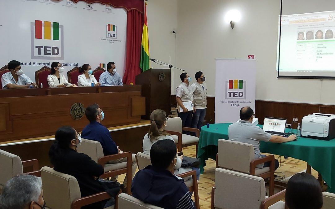 11.286 PERSONAS EJERCERÁN COMO JURADAS Y JURADOS ELECTORALES EN TARIJA